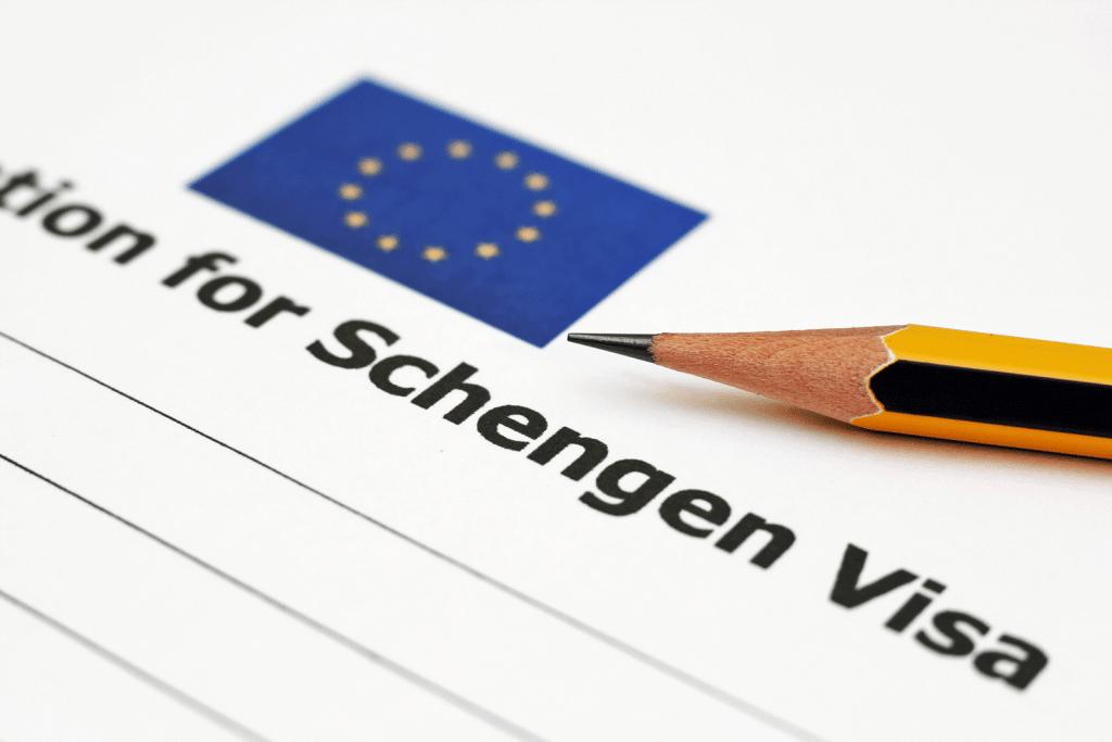 Aanvraagprocedure Schengenvisum