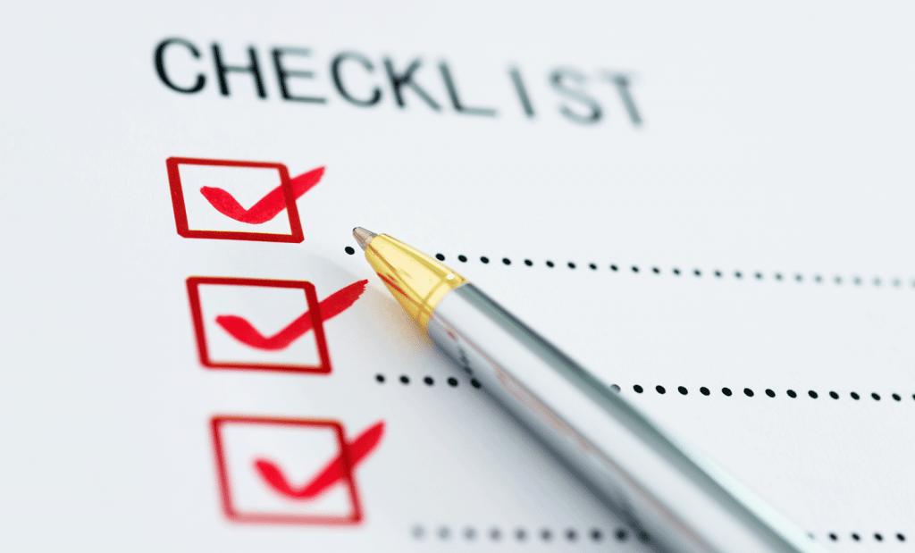 Gebruik de checklist om een visum aan te vragen