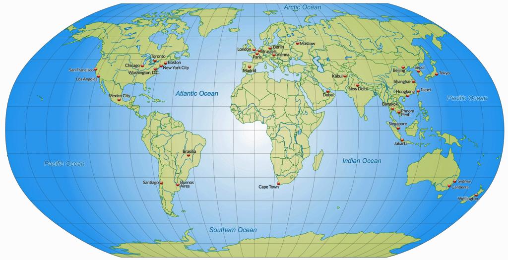 Lijst met niet-visumplichtige nationaliteiten