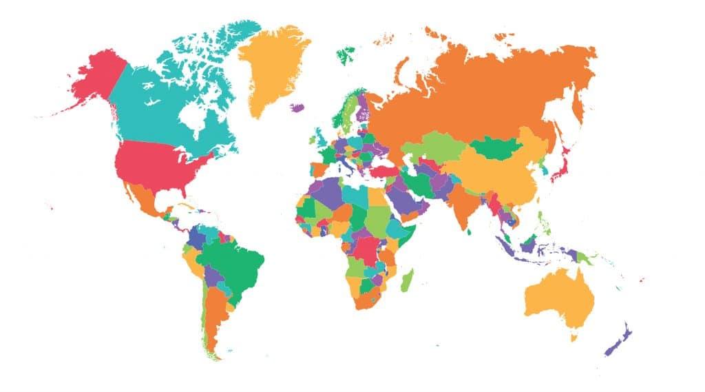 Lijst met visumplichtige nationaliteiten