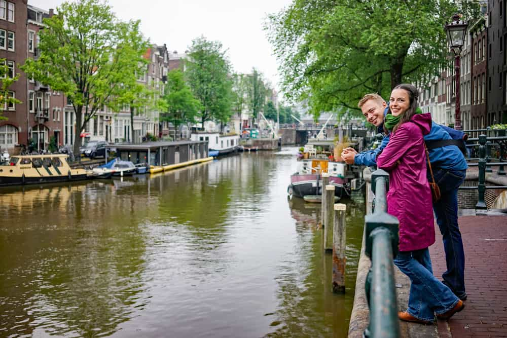 Buitenlandse reizigers naar Nederland
