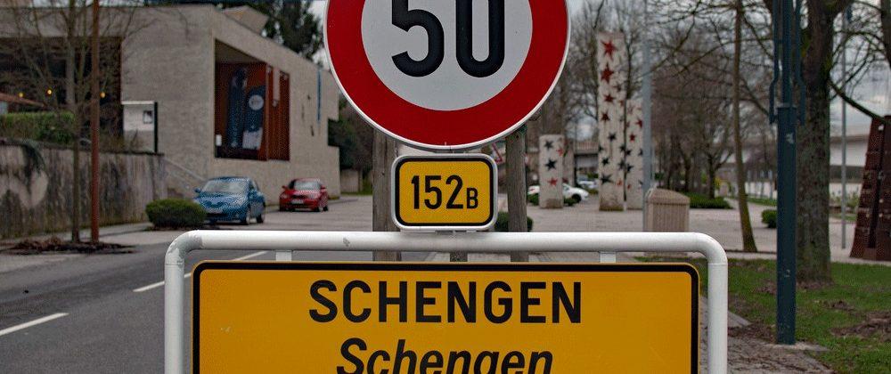 Het Luxemburgse plaatsje Schengen